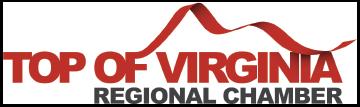 Top of virginia logo